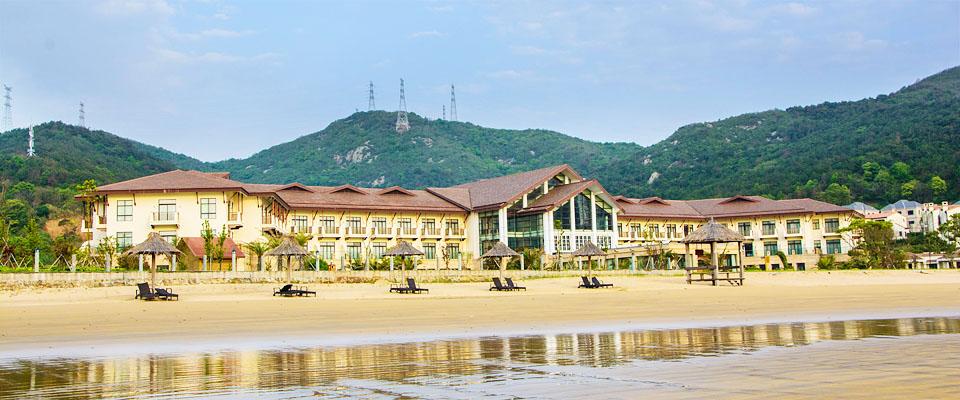 秀山岛前景君廷温泉度假酒店