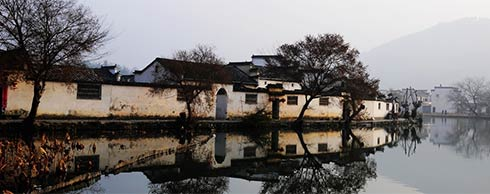 """宏村风景区,感受""""中国画里乡村"""""""